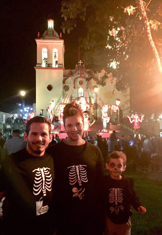 Mi familia en Santiago