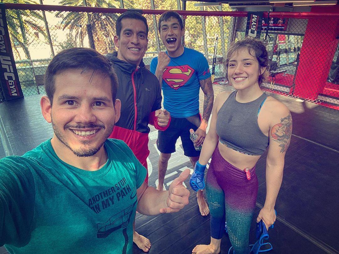 MMA training 1