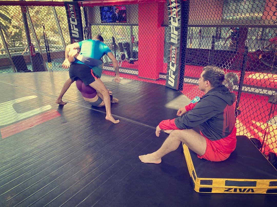 MMA training 2